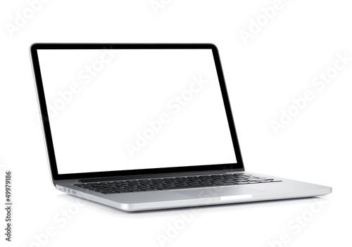 Leinwandbild Motiv Laptop