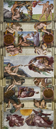 Fototapeta sixtinische Kapelle Rom