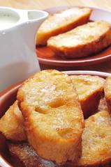 torrijas, typical spanish dessert for Lent and Easter