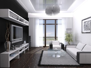 Interior living room 02
