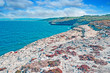 rocky shore in Sardinia