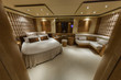 Italy, Alfamarine 78 luxury yacht, master bedroom