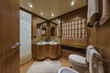 Italy, Alfamarine 78 luxury yacht, master bathroom