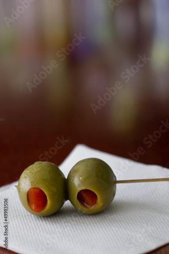 cocktail olives