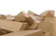Bauklötze aus Holz - wild gemischter Haufen 4