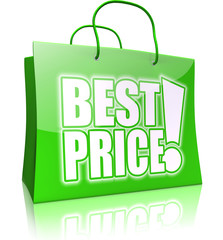 shopping bag BEST PRICE! green