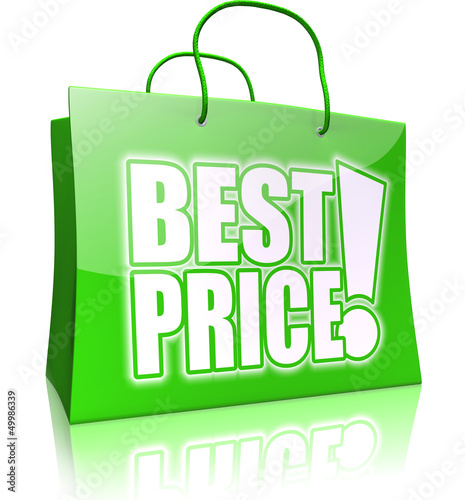 shopping bag BEST PRICE! green