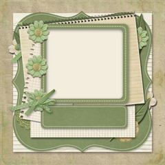 365 Project. scrapbooking templates.title