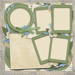 365 Project. scrapbooking templates.family album