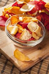 Fresh Cut Organic Vegetable Chips