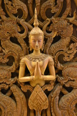Wood carving from Thailand