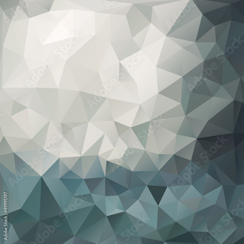 Sticker Abstract triangle background