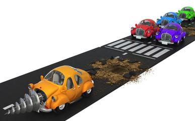 Car Dig