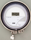 Smart grid residential digital power supply meter