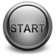 START, glossy vector button