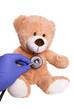 Teddy beim Kinderarzt