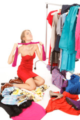 Lots of clothes and still nothing to wear! Girl - Shopagolic