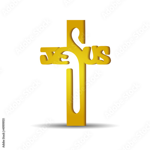 "Cross with the inscription ""Jesus"""