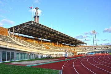 Estadio Olímpico de Amsterdam, atletismo, deportes