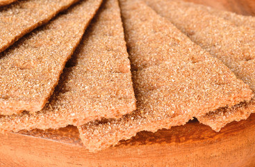 crisp bread macro