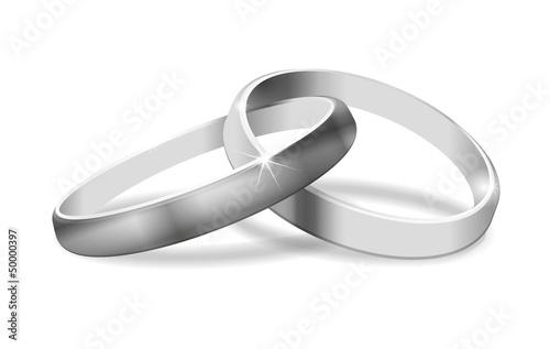 zwei Ringe in Silber - 50000397
