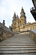Catedral de Santiago de Compostela, escalinatas