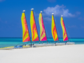 Catamaran sailboats