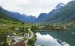 Norwegian village Olden