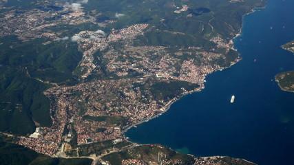aerial view tukey