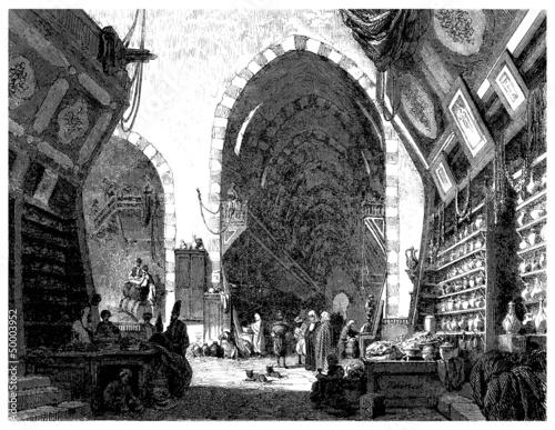 Traditional Arabian Bazar - Souks