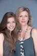mère et fille beauté