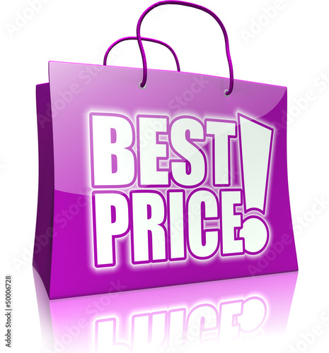shopping bag BEST PRICE! purple