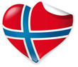 Vector Heart Norway