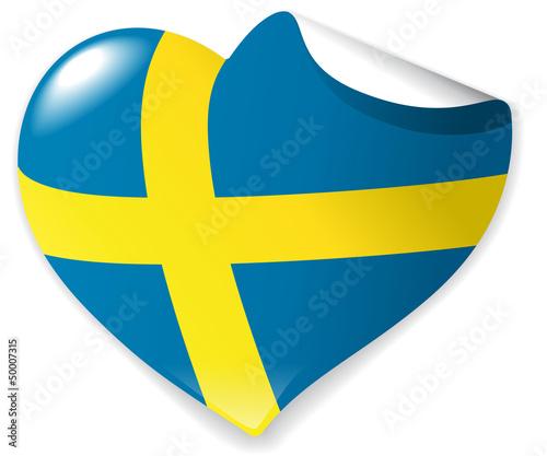 Heart-Sticker Sweden