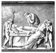 Ancient Rome : Dead Patrician Woman