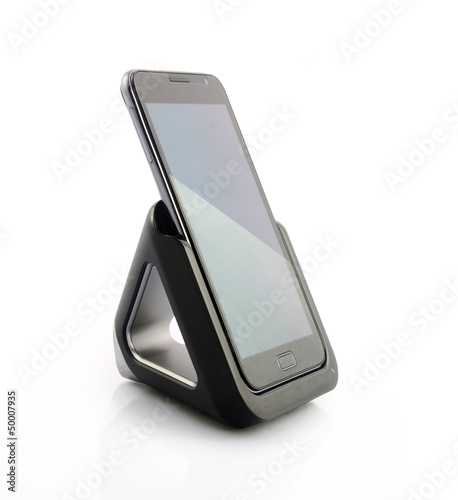 Smartphone with dock