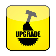 Upgrade sign