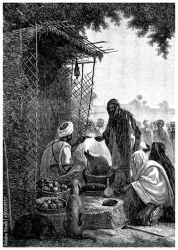 Arabia : trad. Food Merchant