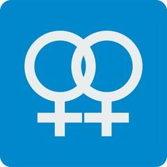 Lesben Ehe Symbol
