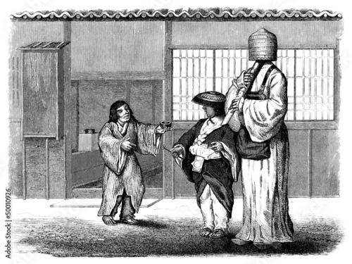 Traditional Japan : Street Scene