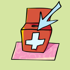 Коробка скорой помощи