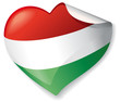 Vector Heart Hungaria