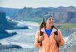 Woman Hiker, Iceland