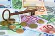 euroscheine-schlüssel
