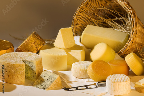 Different cheese products