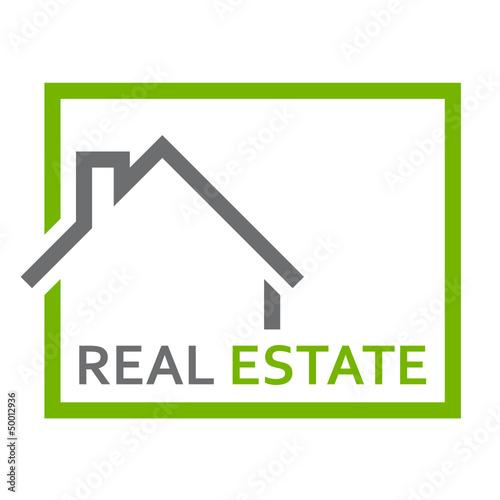 haus immobilien logo stockfotos und lizenzfreie vektoren auf bild 50012936. Black Bedroom Furniture Sets. Home Design Ideas