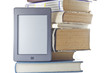 Electronic book and print books.