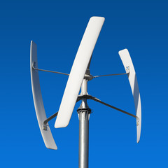 Wind turbine, renewable energy source of future.