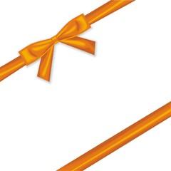 Geschenkband in orange