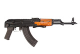 Kalashnikov airborn version assault rifle on white